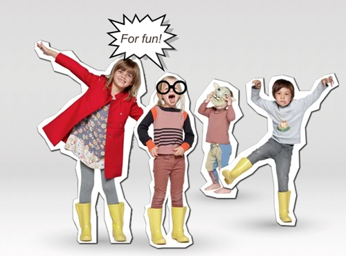 Moda infantil de Stella McCartney kids