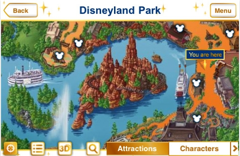 Disneyland Paris en tu iPhone