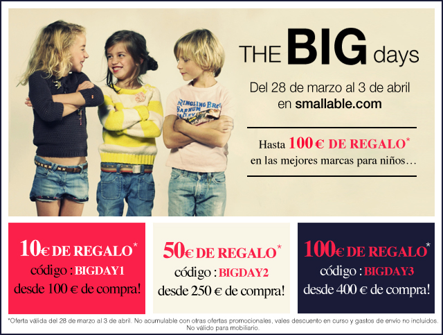 The BIG days en Smallable