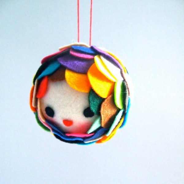 Felt Decorations by Jess Quinn