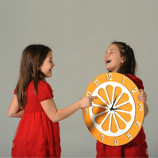 Clementine the Orange Wallclock by Eco+ You