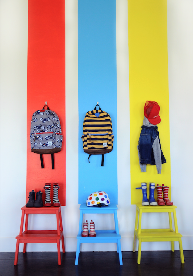 6 ideas originales para decorar las paredes del dormitorio infantil con pintura decopeques - Ideas originales para decorar ...