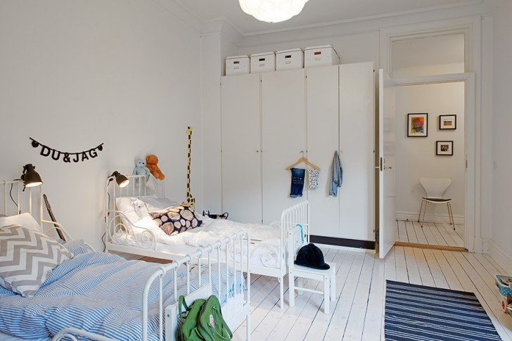 dormitorio-compartido-nordico