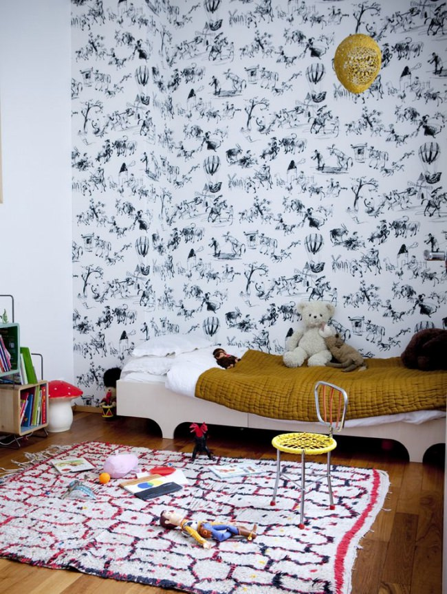 Tendencias deco…6 Decoraciones infantiles de paredes XL