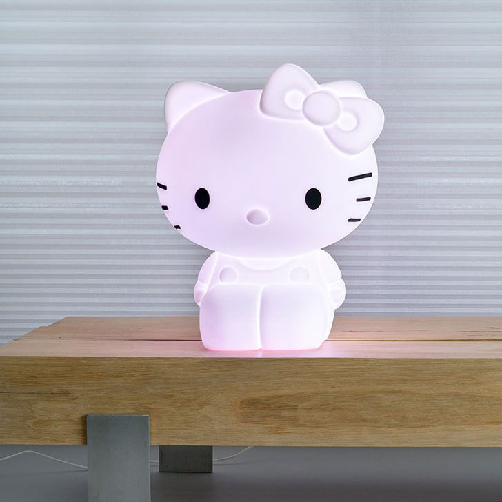 L mpara infantil xl de hello kitty en minimoi decopeques for Lamparas pared infantiles