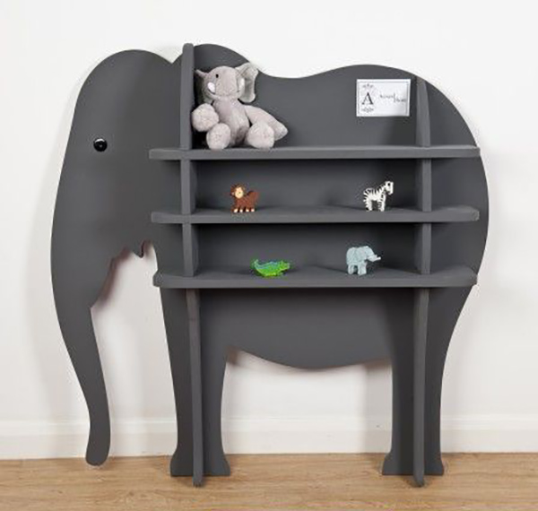 Decora con estanter as con formas originales decopeques - Estanterias infantiles originales ...